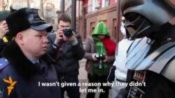 'Darth Vader' Storms Ukrainian Justice Ministry