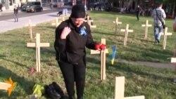 Prague's Ukrainians Commemorate Kyiv Victims