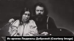 Геннадий и Людмила Добровы в 1983 году