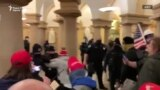 Четири жртви при упадот во зградата на Конгресот на САД