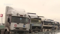 Russian Truckers Launch Strike Over Road Tax