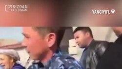 В Ташобласти арестовали мужчину за плевок в лицо сотруднику Бюро принудительного исполнения