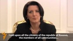 Kosovo President Urges Serbian Minority To Vote