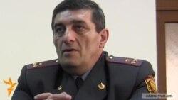 Շիրակի մարզի ոստիկանապետը ազատվել է պաշտոնից