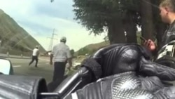В Боомском ущелье автоинспектор применил оружие в отношении байкера
