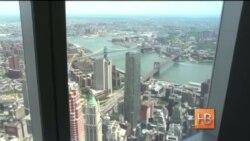 В Нью-Йорке открыта смотровая площадка на высоте полкилометра