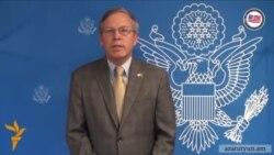 Посол США в Армении: «Наилучший способ почтить память погибших - прекратить столкновения прямо сейчас»