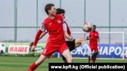 Один из матчей чемпионата Кыргызстана.