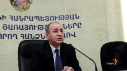 ادامه تظاهرات معترضان در ايروان، پايتخت ارمنستان