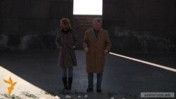 Президент РСЕ/РС посетил «Цицернакаберд»