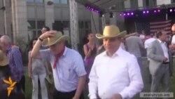 Վարչապետը պարը ԱՄՆ անկախության տոնին նվիրված միջոցառմանը