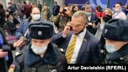 Задержание Михаила Тимонова