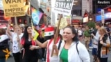 Activists In U.S. Cities Protest Military Action In Syria
