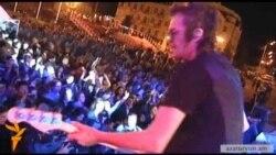 Հանրահայտ ռոք երգիչները հանդես եկան Ստեփանակերտում