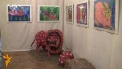 Картини Марії Примаченко втілили у скульптурах