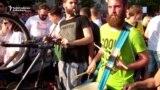 Serbs Protest At Regional TV Station