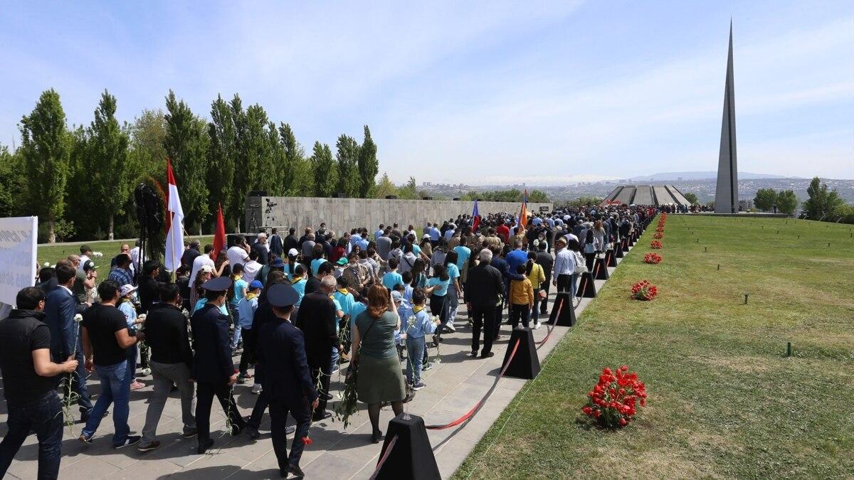 Armenia Marks Genocide Anniversary