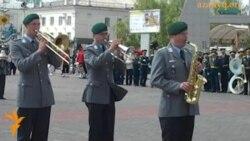 Парад военных оркестров в Астане