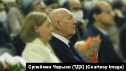 Rejep Rejepov (pictured center) was 76.