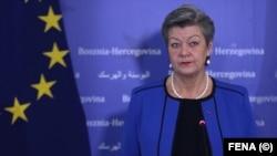 یلوا یوهانسون، کمیسر اروپا در امور داخلی