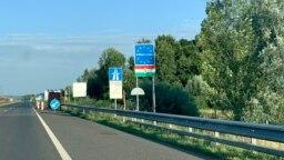 Határátkelés Tornyiszentmiklósnál 2021. július 19-én
