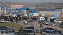 На Львівщині протестували на пунктах пропуску на українсько-польському кордоні (відео)