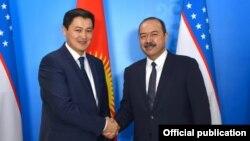 Улукбек Марипов жана Абдулла Арипов. Казакстандын Алматы шаары. 5-февраль, 2021-жыл.