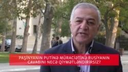 Rusiyanın Paşinyana cavabını ekspert şərh edir