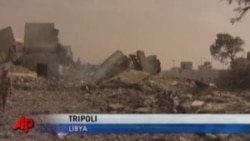 NATO Air Strikes Continue In Tripoli