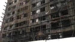 Yanğın binanı bu hala saldı
