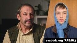 Арцём Баярскі і ягоны дзед Барыс. Каляж