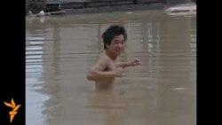 Наводнение на востоке Китая