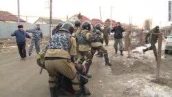 Беспорядки в поселке Плеханово Тульской области