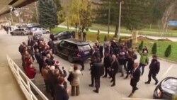 Presidenti Meta takon shqiptarët në Medvegjë