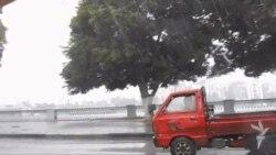 مصر:عاصفة ثلجية وأمطار غزيرة