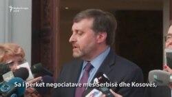 Palmer pyetet se a e mbështetë SHBA-ja ndarjen e Kosovës