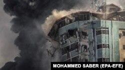Израильско-палестинский конфликт в фотографиях: обострение продолжается (фотогалерея)