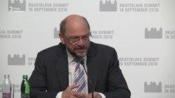Європарламент буде голосувати щодо безвізового режиму з Україною у жовтні – Шульц (відео)