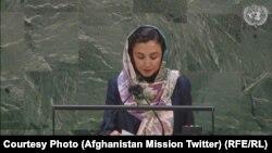 عادله راز نماینده افغانستان در سازمان ملل متحد