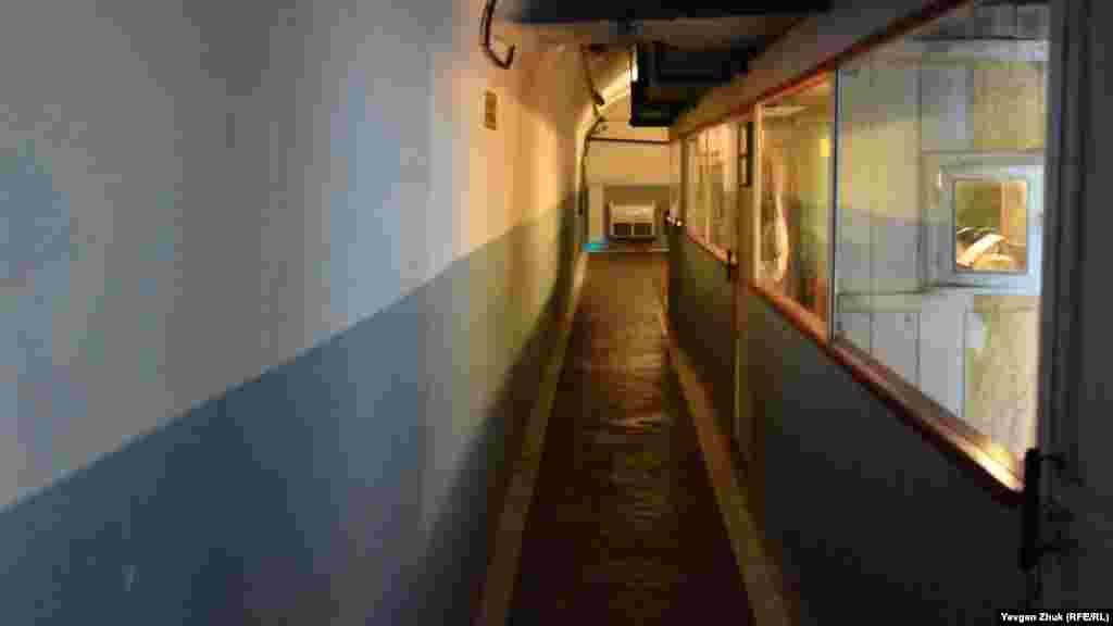 Инсталляция подземного пункта управления городом