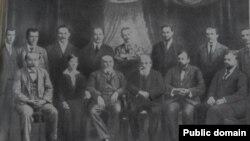 Participanții la A II-a conferință socialistă interbalcanică, București, 6-8 iulie 1915