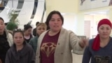 «Пусть Назарбаев уйдет!» Призыв, прозвучавший в акимате