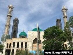 Ташкенттеги Исламабад мечитинин курулушу.