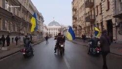 «Birdemlik yürüşi»: Kyivde qırımlılarğa qoltutmağa çıqtılar (video)