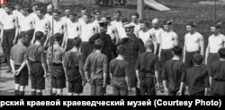 """Прощание губернатора Бологовского с """"соколами"""" на Сокольской площадке"""