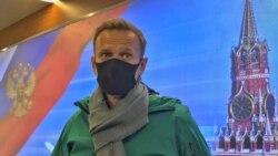 """""""Nem félek"""": videón Navalnij hazatérése"""