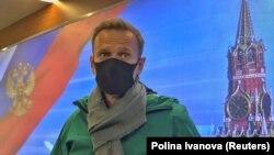 Алексей Навальный после возвращения в Россию, 17 января 2021