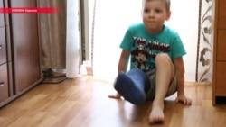 Клим з Донбасу після поранення вчиться жити заново (відео)