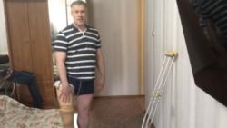 Неравная борьба Олега Шарапатюка за протез