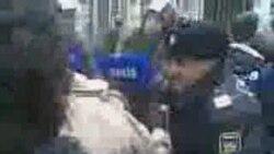 Арест Арифа Гаджилы во время акции 2 апреля